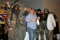 Duck Dynasty Crew at Fun Night 2013