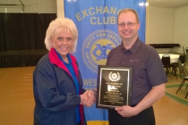 Shawn Preabt - District Volunteer Award